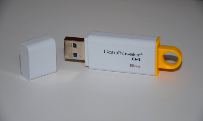 Test pendrive Kingston DataTraveler G4 8GB pod USB 2.0